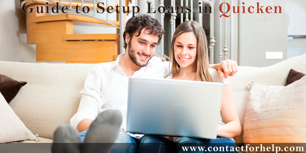 guide to setup loans in quicken