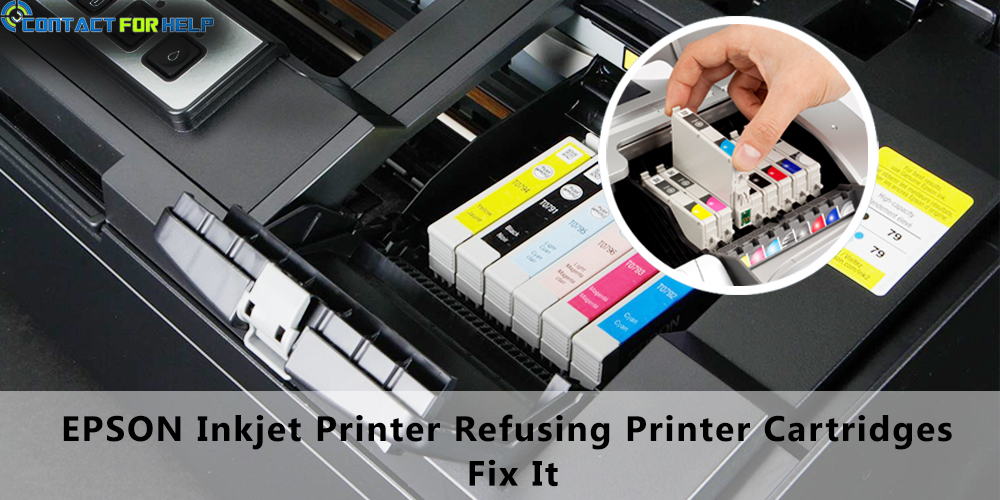 Epson Inkjet Printer Refusing Printer Cartridges