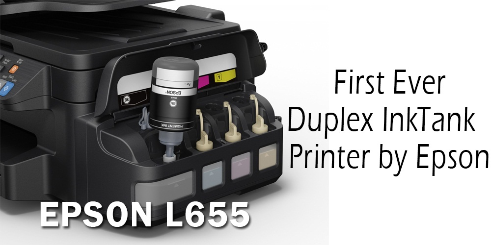Epson L655 First Ever Duplex Ink Tank Printer by Epson