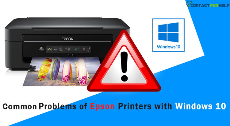 Fix Common Problems of Epson Printers with Windows 10