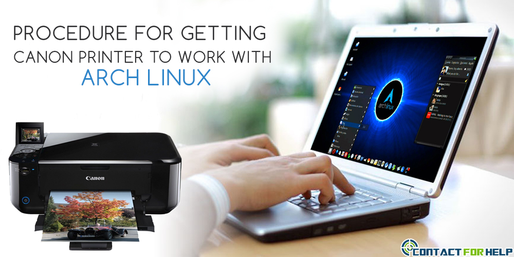 Procedure for Getting Canon Printer to Work with Arch Linux