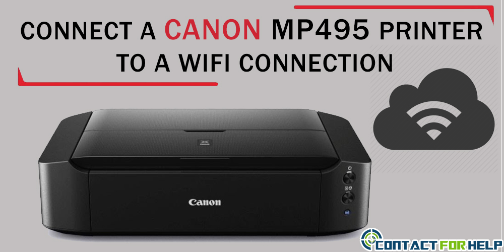 Canon MP495 Printer