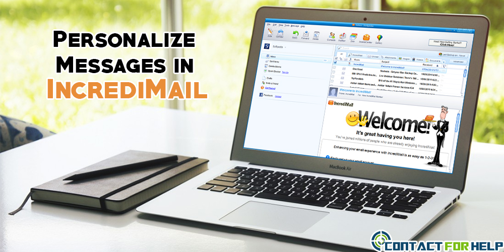 Personalize IncrediMail