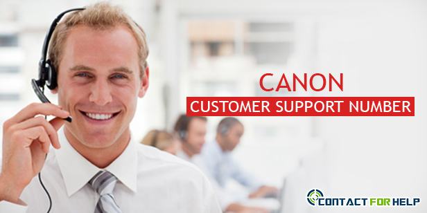 canon customer support number