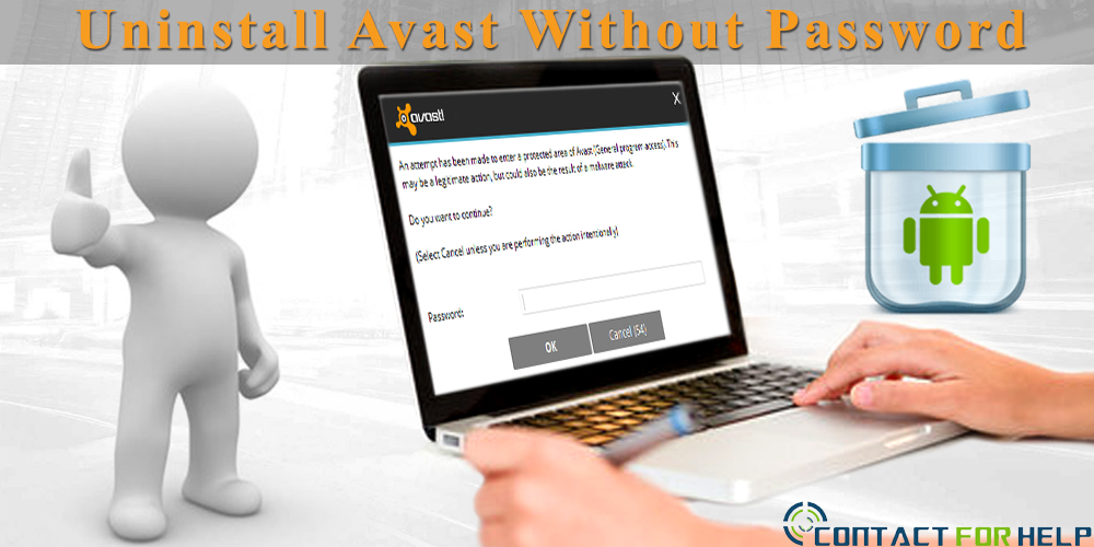 Uninstall Avast Without a Password