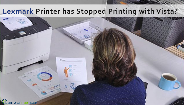 Lexmark Printer has stopped printing with Vista
