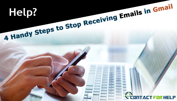 Stop Receiving Emails in Gmail