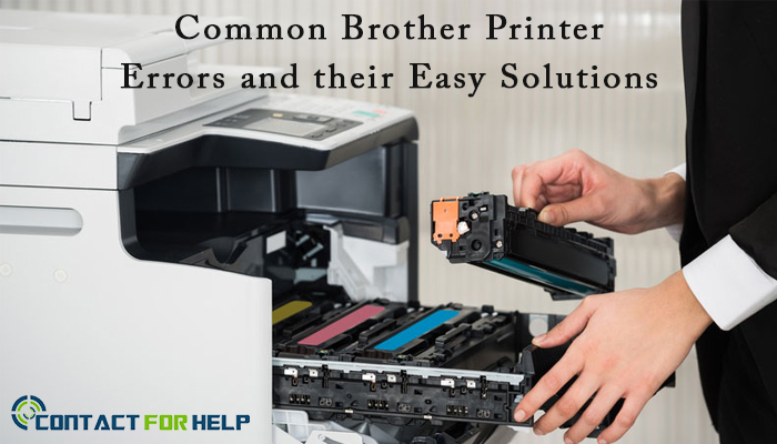 Common Brother Printer Errors and their Easy Solutions