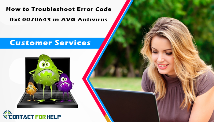 How to Troubleshoot Error Code 0xC0070643 in AVG Antivirus