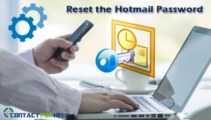 Reset the Hotmail Password