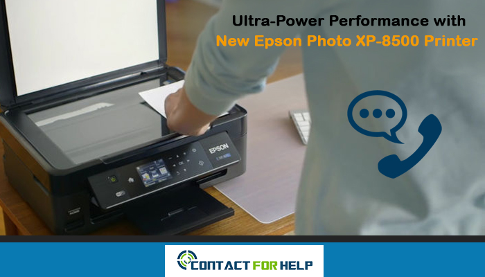 Epson Photo XP-8500 Printer