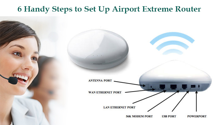 Set Up Airport Extreme Router