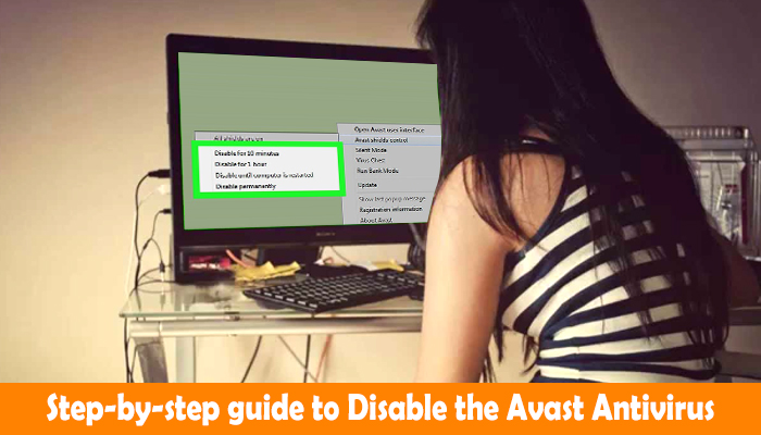 Step-by-step guide to Disable the Avast Antivirus
