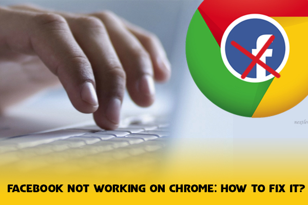  Facebook not working on chrome