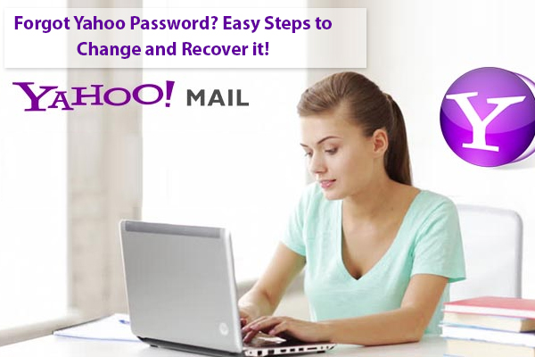 Forgot Yahoo Password- Easy Steps to Change and Recover it!